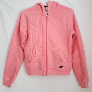Nike Zip-up Womens Sweatshirt Size M (8-10)